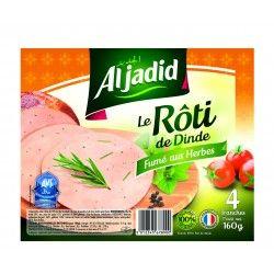 "Tranche de Roti de Dinde Fumé ""AVS"" 160g"