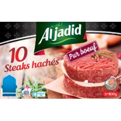 "Steak Haches pur Boeuf ""AVS"" 80g par 10"