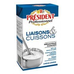 Crème liquide Président