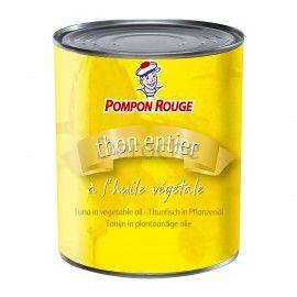 Thon à l'huile de tournesol - Pompon Rouge