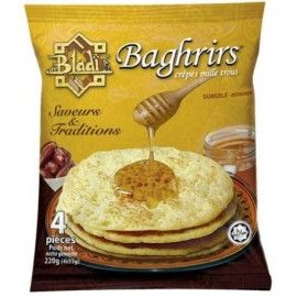 Crèpes baghrirs mille trous  - BLADI