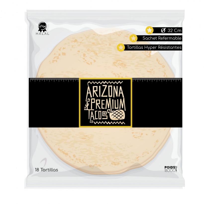Tortilla de blé Azteca