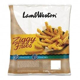 """Frite Ziggy  """"Lambweston"""" 2.5Kg"""