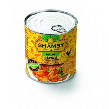 Ravioli Shamsy sauce tomate