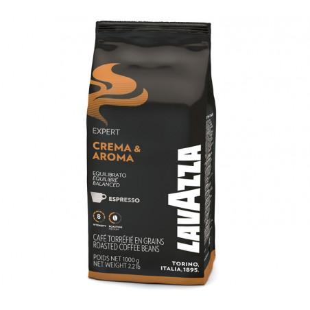 Café En Grains  Crema & Aroma - Lavazza