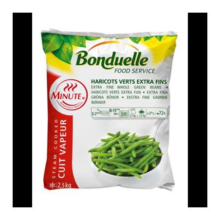 Haricot verts extra fin 2.5 kg - Bonduelle
