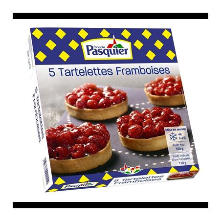 Tartelettes framboise - Pasquier