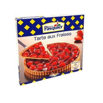 Tarte aux fraises - Pasquier