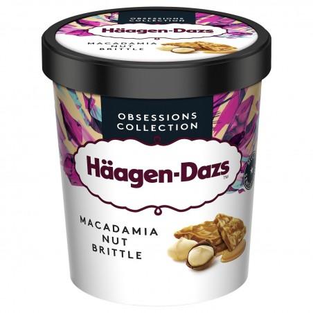 Glace vanille noix de macadamia HAAGEN-DAZS
