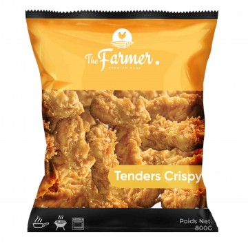 "TENDERS CRISPY  "" THE FARMER  "" ACHAHADA SACHET 800 G"