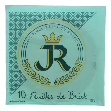 """FEUILLE DE BRICK """"JR""""  LE..."""