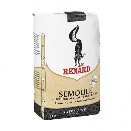 """SEMOULE EXTRA FINE """" LE RENARD """"SACHET 1 KG"""